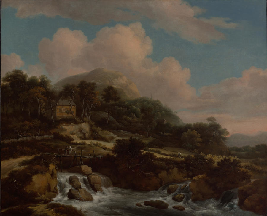 Mountain Landscape with River