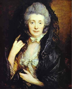 Mrs. Thomas Gainsborough, nee Margaret Burr