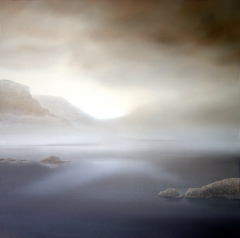Nieblas Eternas (Eternal fog) (100 x 100 cm.)