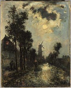 Night Scene, Rotterdam
