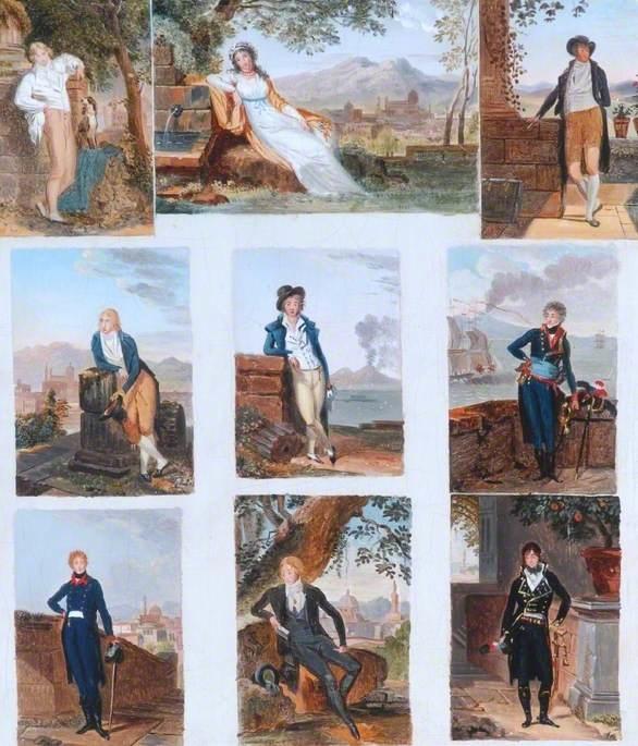 Nine Sample Portraits