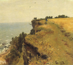 On the Shore of the Gulf of Finland (Udrias near Narva). Study