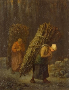 Peasant Women with Brushwood