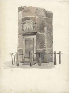 Poortje van het gilde in de St. Anthoniswaag, Amsterdam