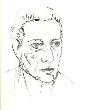 Portrait de Otto Dix