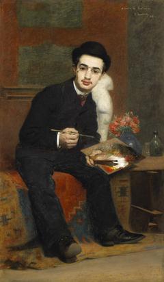 Portrait du peintre Henri de Toulouse-Lautrec