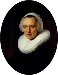 Portrait of a 40-year-old Woman, possibly Marretje Cornelisdr van Grotewal