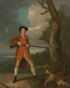 Portrait of a sportsman, possibly Robert Rayner
