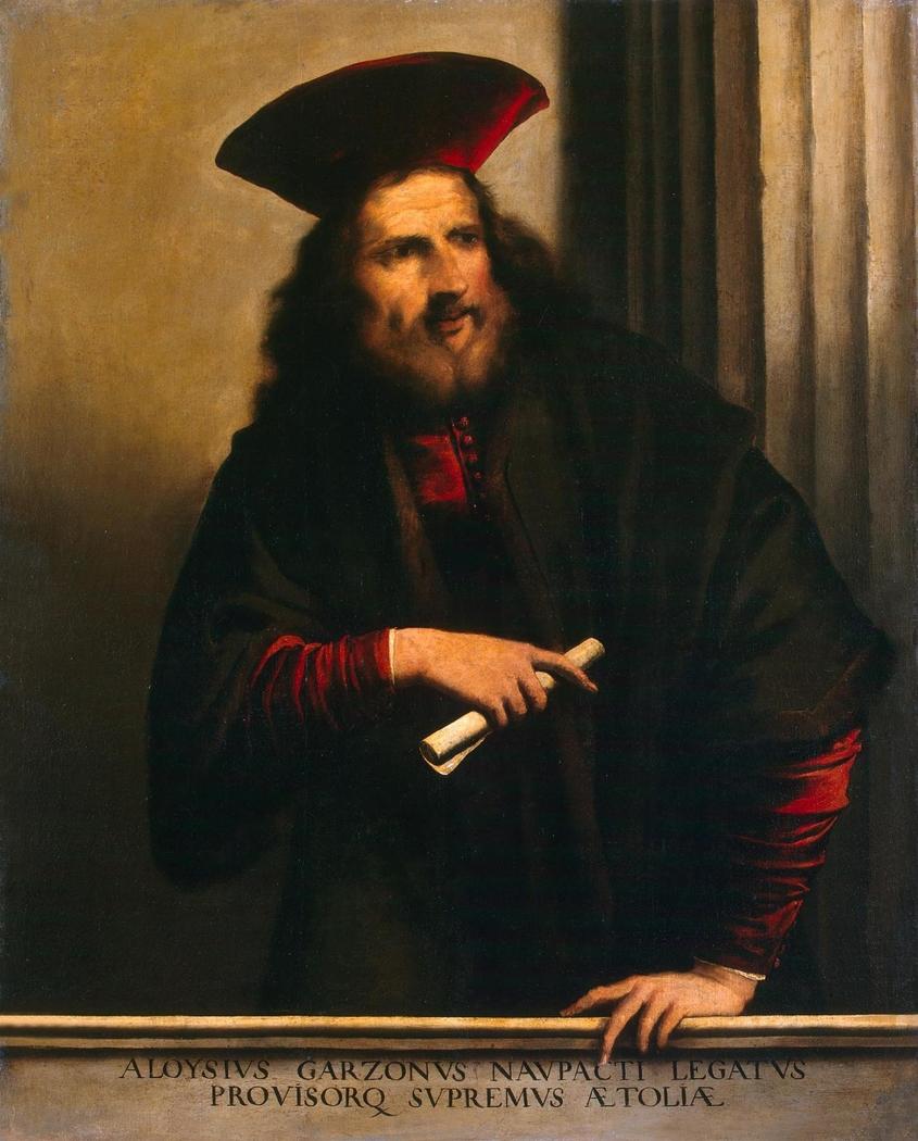 Portrait of Aloysio Garzoni