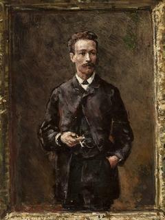 Portrait of Artur Gruszecki, sketch