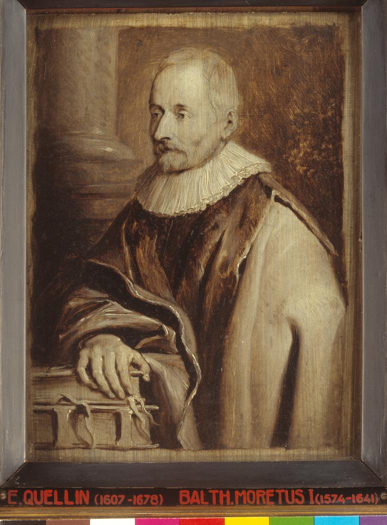 Portrait of Balthasar I Moretus