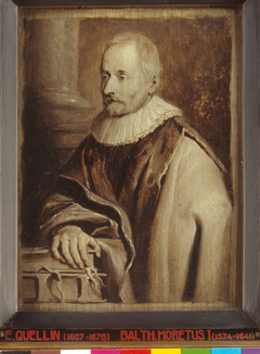 Portrait of Balthasar I Moretus