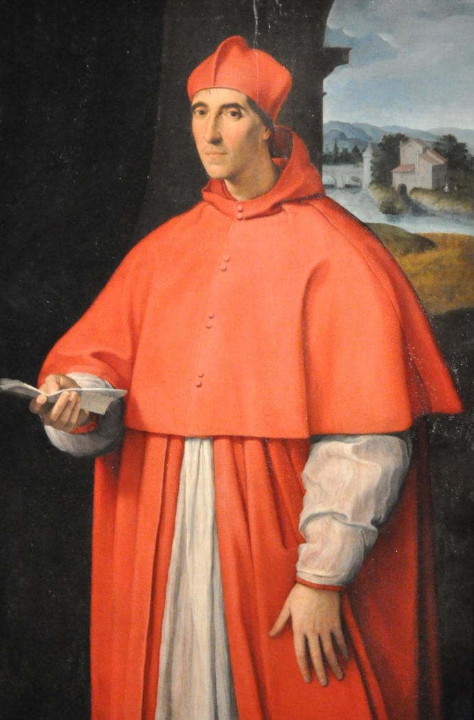 Portrait of Cardinal Alessandro Farnese
