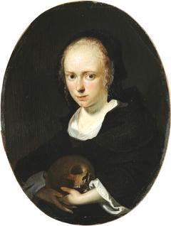 Portrait of Cornelia Bouwers, the artist's wife