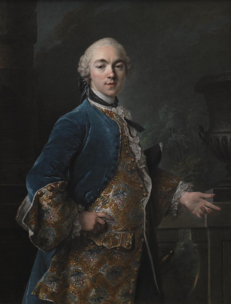 Portrait of Frederik Christian Krag (1726-1763)