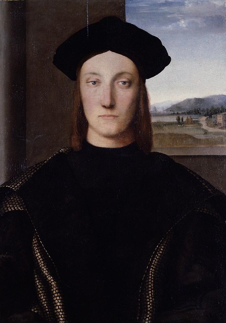 Portrait of Guidobaldo da Montefeltro