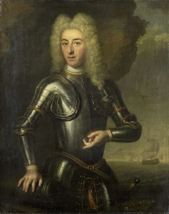Portrait of Hendrik Lijnslager, Sea Captain with the Admiralty of Amsterdam
