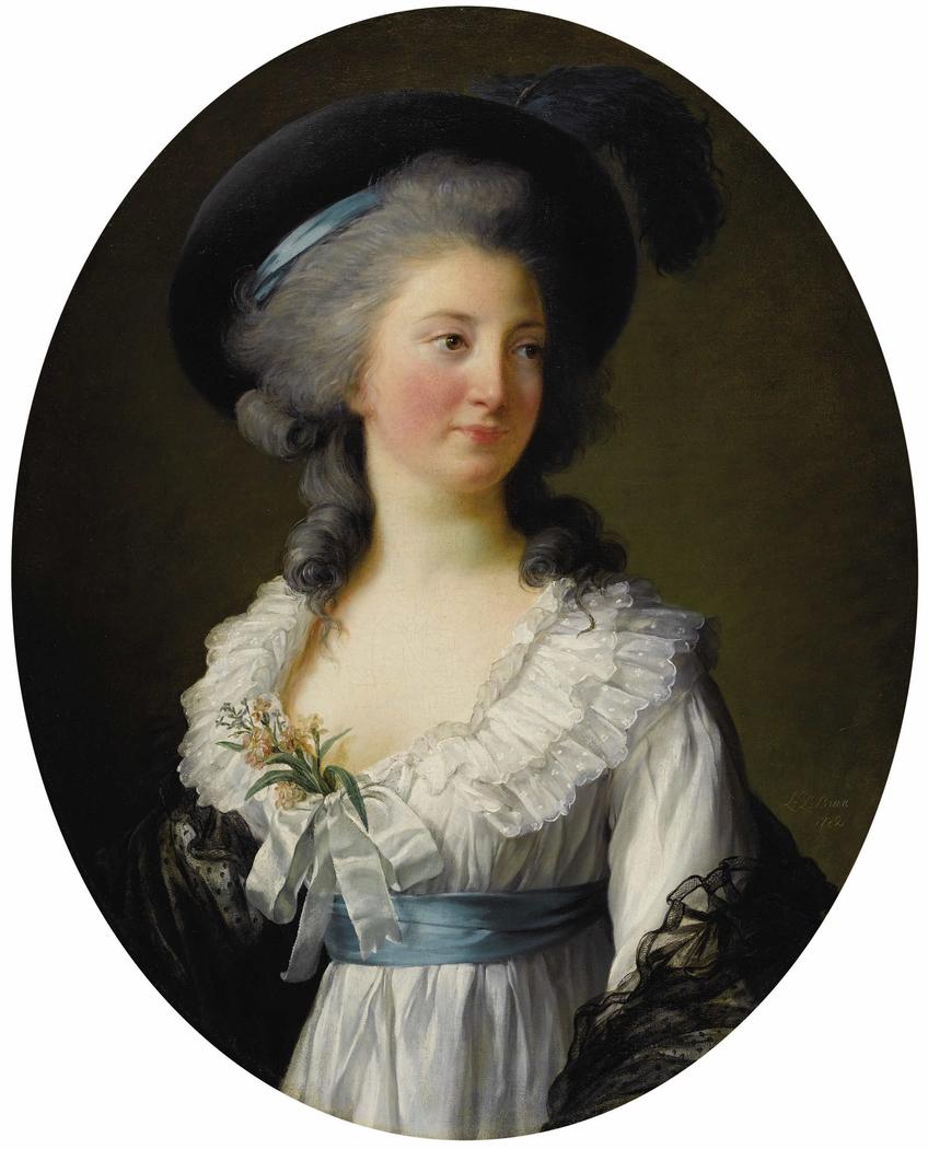 Portrait of Izabela Czartoryska