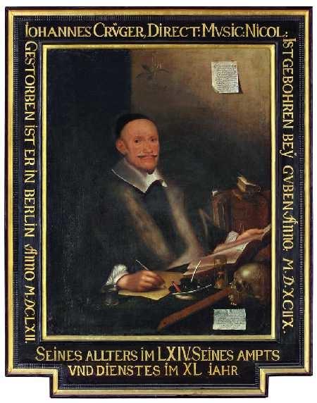 Portrait of Johann Crüger