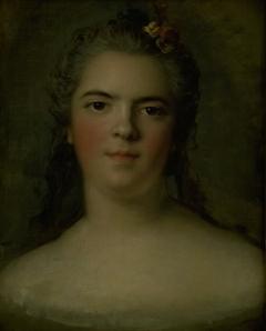 """Portrait of Louise-Élisabeth de France, Louis XV's Daughter """"Mme Infante"""""""