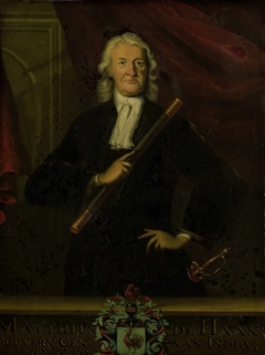 Portrait of Mattheus de Haan, Governor-General of the Dutch East Indies