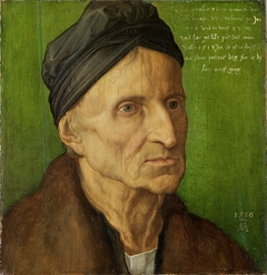 Portrait of Michael Wolgemut