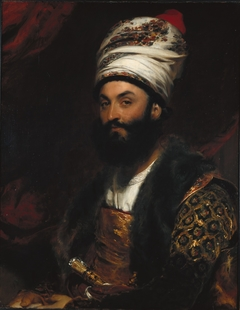 portrait of Mirza Abu'l Hassan Khan