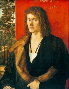 Portrait of Oswolt Krel