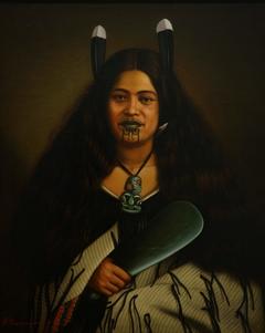 Portrait of Pare Watene