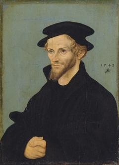 Portrait of Philipp Melanchthons (pendant of GK 17) (1543)