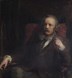 Portrait of the Artist's Husband Henry with a Pipe
