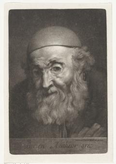 Portrait of the Writer Lucian of Samosata