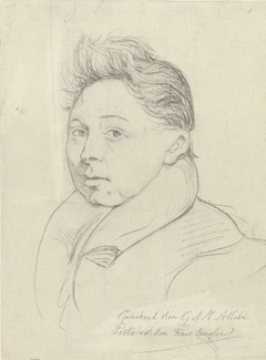 Portret van de heer Frans Spengler