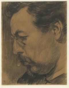 Portret van de kunstschilder Leendert Adriaan Schilt