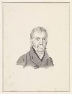 Portret van Jan Willem Caspari