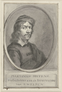 Portret van Martinus Mytens de Oude / Martin Mytens (der Ältere)