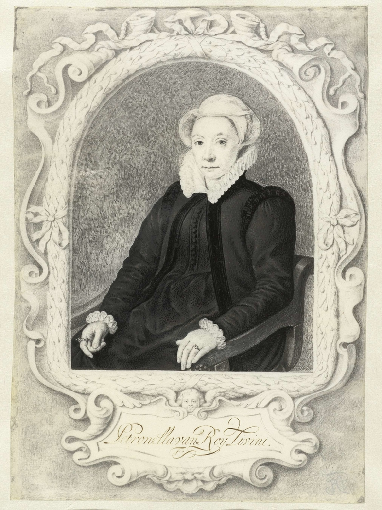 Portret van Petronella van Roy Livini