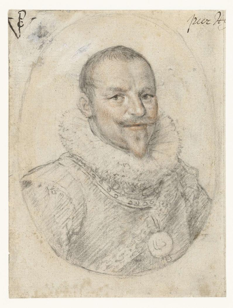 Portret van Piet Hein