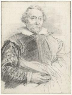 Portret van Willem de Vos