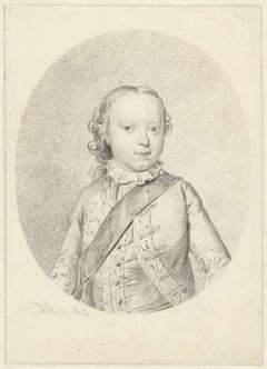 Portret van Willem V