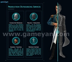 Production Outsourcing Services By GameYan Post Production Animation Studio