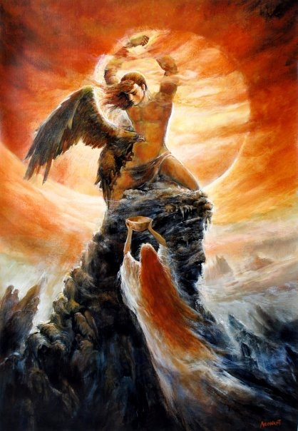 """Prometheus and Hestia"" Dranoel Pyraither - Artwork on USEUM"