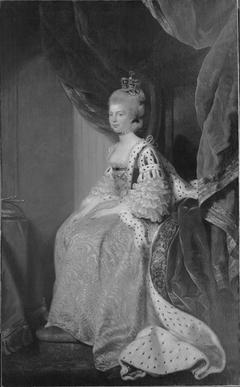 Queen Charlotte Sophia of Mecklenburg-Strelitz. Wife of George III