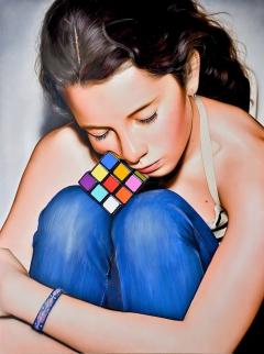 Rubik Girl