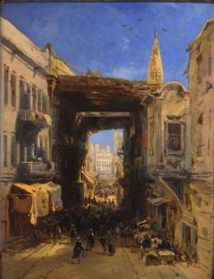 Rue dans la casbah d'Alger
