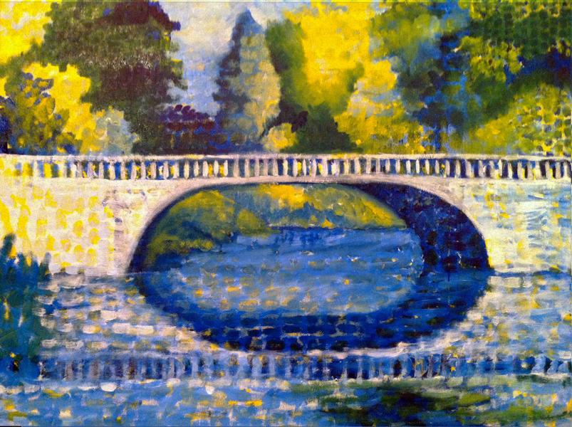 Sacré Bleu Park Bridge