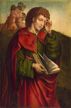 Saint John the Evangelist Weeping
