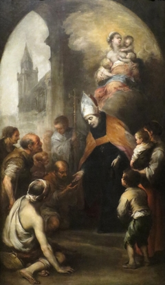 Saint Thomas of Villanueva Giving Alms to the Poor