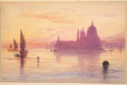 Santa Maria della Salute, Venice, at Sunset