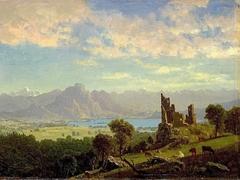 Scene in the Tyrol